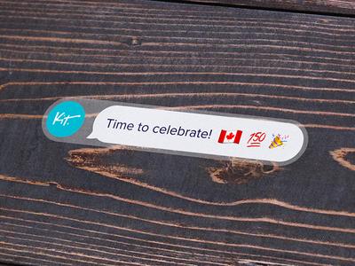 Canada 150 Sticker