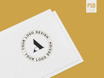 Download - Minimal Logo Mockcup