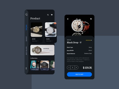 Watch Ecommerce Mobile UI payment icon design kit sketch watch fashion infomation categories collection product ecommerce shopping shop mobile app ux ui