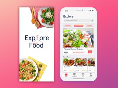Explore Food - Food App