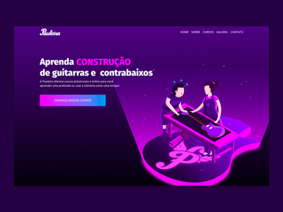 Pauleira Website Home Hero Isometric