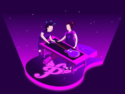 Pauleira Isometric Illustration