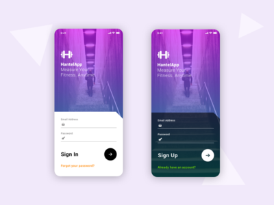 Sign In / Sign Up Form - Daily UI #001