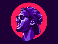 Vector Portrait Illustration