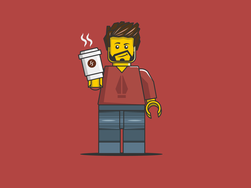 Lego Vector Illustration design flat vector art illustrator adobe lego illustration vector