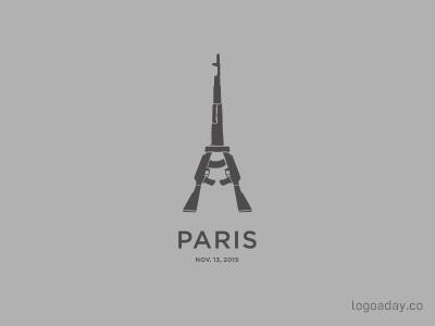 Paris terrorism france tower gun kalashnikov eiffel paris