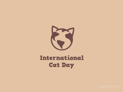 International Cat Day earth world head cats cat