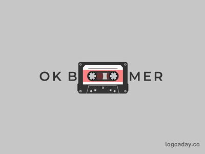 OK Boomer retro ok cassette boomer