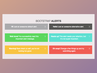 Alerts Bootstrap