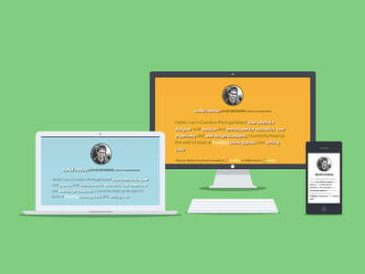 Pure CSS Devices css mac desktop laptop mobile css3 html5