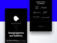 Bourros /Rise Landing Page Mobile