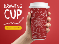 Drawing cup
