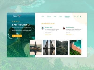 Wonderful Indonesia Website
