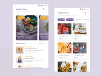 Mobile Healthy Shop