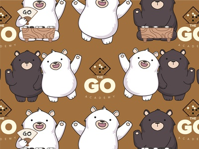 The Go Academy Brochure Design - 围棋教育学院