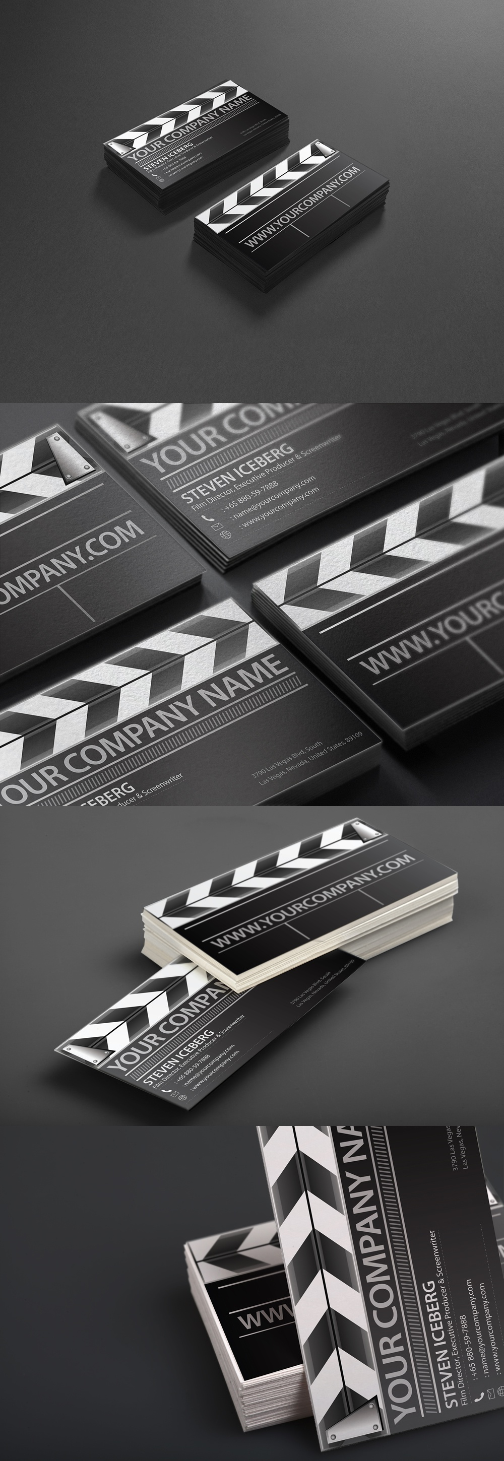 Dribbble film director business card design dribbbleg by film director business card design dribbble reheart Images