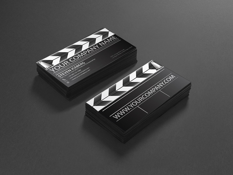 Film Director business Card Design by Lemongraphic - Dribbble