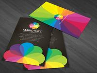 Color blossom business card 01