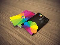 Color blossom business card 02