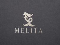Melita Swimwear logo design