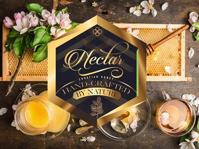 Nectar honey packaging branding