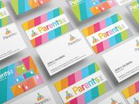 Parents Inc Business Card Design