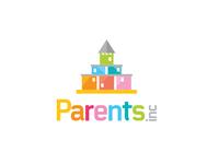 Parents Inc Castle Logo Design