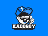 Kadoboy Logo Dribbble