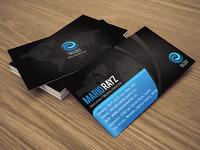 Talent corporate business card