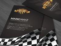 Grandprix Business Card Design