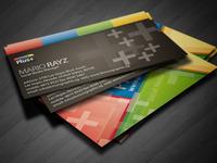 Google Plus+ Business card