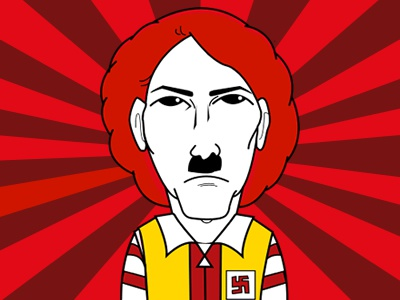 Adolf Hitler Ronald Macdonalds