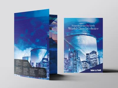 Interbank Bi-fold A4 brochure design