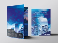 Interbank Bi-fold A4 brochure design
