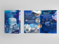 Interbank Bi Fold A4 Brochure Design