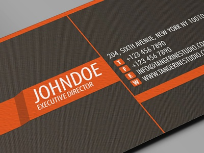 Tangerine studio business card design by lemongraphic dribbble tangerine studio business card design dribbble reheart Choice Image