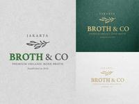 Broth&Co Jakarta logo design
