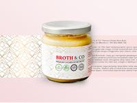 Broth&Co Jakarta packaging design