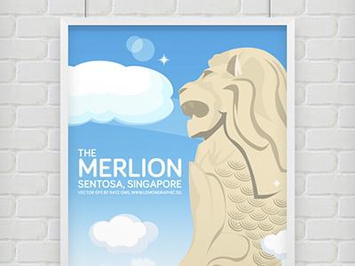 Free Download: Singapore merlion sentosa vector eps singapore merlion merlion sentosa free vector merlion eps merlion ai file merlion illustration freebies