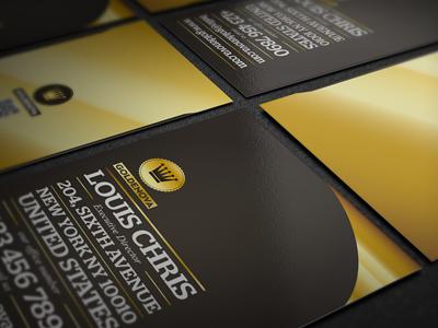 Golden Nova business card