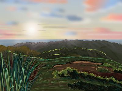 Marangtong mountain