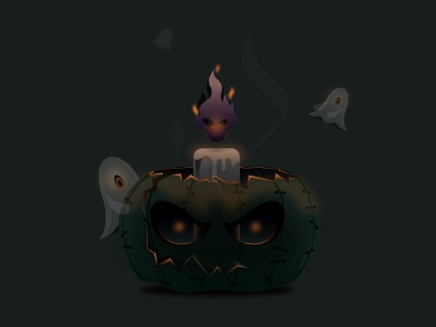 HALLOWEEN charecter design illustration