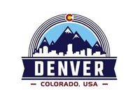 Denver Colorado design template. Vector and illustrations.