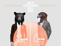 Which gentleman will win
