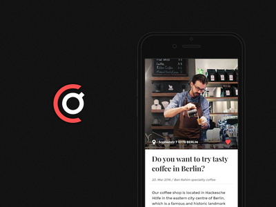 COffee social network | branding & app design social network photoshop logo ios illustrator corporate identity concept coffee branding app design app