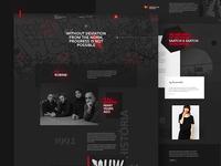 Website redesign for MUW Saatchi & Saatchi