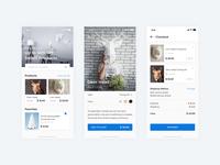 Polygonal Paper Store | Mobile Web Concept
