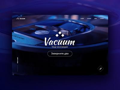 Promo Vacuum design promo vacuum cleaner blue