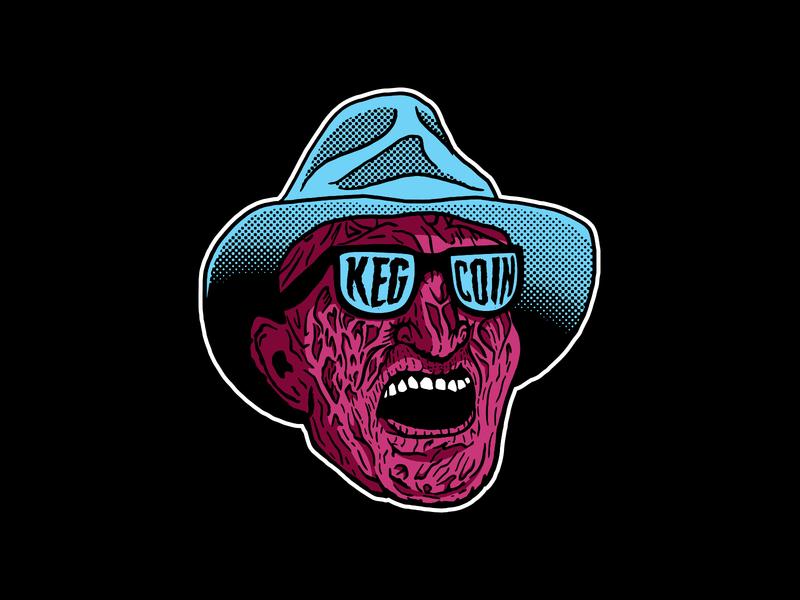 Freddy Krueger - Keg and Coin halloween illustration keg and coin nightmare on elm street freddy krueger