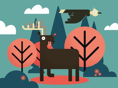 Día Internacional de la Diversidad Biológica biological diversity international day flat illustrator illustration